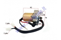 Starter motor 9 tooth D9 for 2-stroke scooter TGB 50cc101,102,202T,203,303,Acros, Laser 50