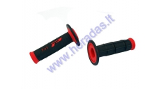 Rubber handlebar grip PROGRIP 791 SOFT TOUCH CROSS DOUBLE DENSITY for motorcycle
