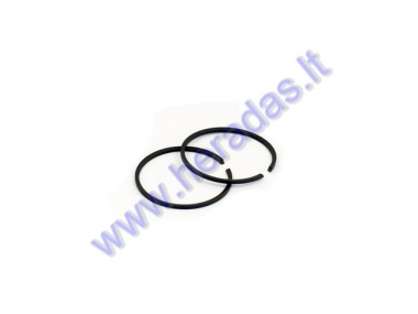 Piston rings for 80cc motorized bicycle 2-stroke engine D47