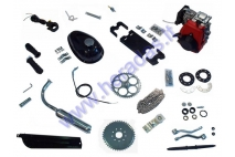 4-sroke 50cc engine set for motorized bicycle