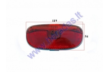 Tail light for electric bicycle Electron EB18 EB19