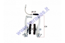 Front brake system for electric bicycle Electron EB18 EB19