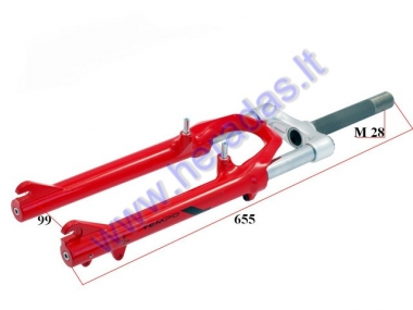 Fork for electric bicycle Electron EB19