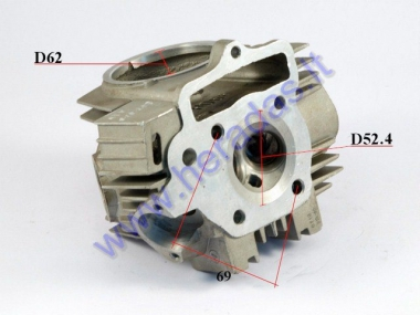 Cylinder head for 110cc ATV quad bike