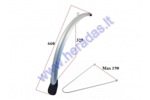 Front mudguard for electric bicycle Electron EB21