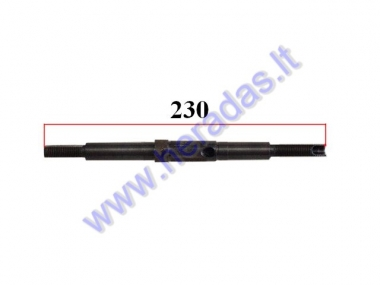 Rear axle for electric bicycle