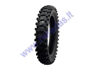 Rear motocross tyre for motorcycle 80/100-R12 50M