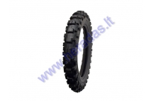 Rear motocross tyre for motorcycle