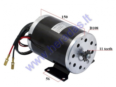 Motor for electric quad bike 48V 1000w
