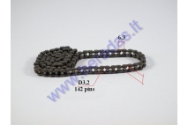 Timing chain for motorcycle 142 links Length 90cm 25H