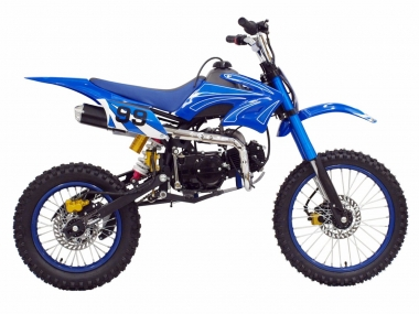 Motocross-enduro motorcycle SHB125