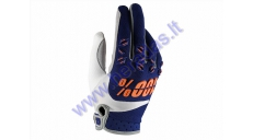 Textile motorcycle gloves OFF ROAD 100%