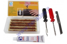 Radial tire repair kit (tubeless) RMS