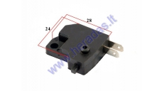 Brake lever STOP light switch for quad bikes, scooters