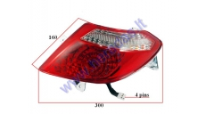Right side tail light for electric trike scooter MS01 MS03 MS04