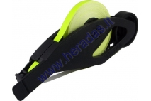 Reflective rim tape 7mmx6 meter length, color neon green