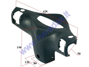 Plastic dashboard cover for electric scooter MS04