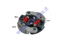 Centrifugal clutch for mini motorcycle 50cc