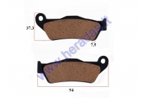 Brake pads for motorcycle KTM EXC 530,525, Husaberg,Aprilia50313030000, 50313030200