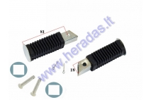 Footrest 2pc set for mini motorcycle 50cc 115MM