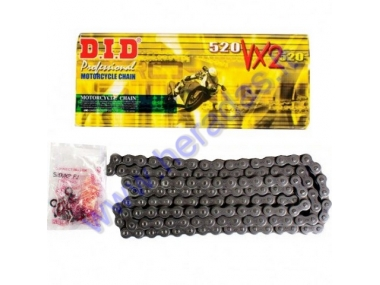 Chain for DID520VX2-120 Chain type 520, 120 link, X-Ring