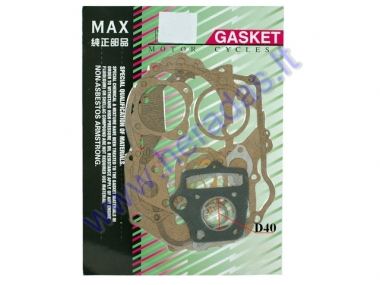 Engine gasket set for moped 50cc 139FMB D40