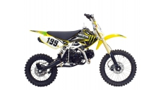 Motocross-enduro motorcycle ORION 125 cc  17/14 wheels air-cooled