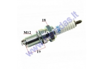 Spark plug for motorcycle DR7EA 7839 NGK