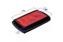 Air filter for motorcycle