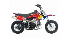 Motocross-enduro motorcycle BULL 50 cc   10 inch wheels with electric starter