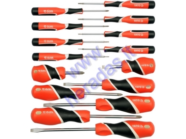 Screwdriver set 15pc
