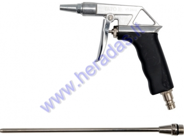 Air blow gun tool long 1/4