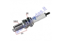 SPARK PLUG FOR MOTORCYCLE DR9EA 3437 NGK