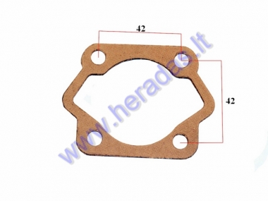 Gasket for motorized bicycle cylinder 50cc