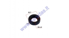 CRANKSHAFT OIL SEAL BY THE CLUTCH FOR MOTORICED BICYCLE 50-80cc