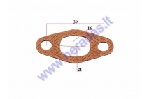 Gasket for motorized bicycle carburator 50-80cc engine