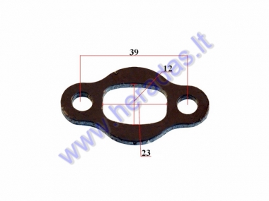Gasket for motorized bicycle muffler 50-80cc engine