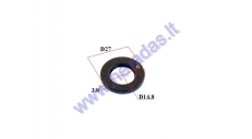 CRANKSHAFT OIL SEAL BY THE MAGNETO FOR MOTORIZED BICYCLE 50-80cc