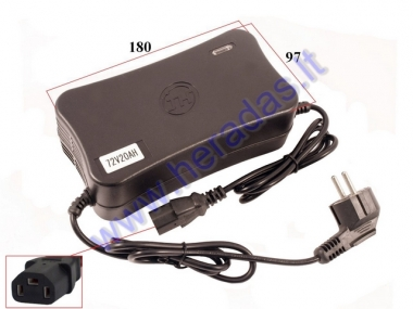 72V/20Ah Battery charger for electric scooter E-SMART
