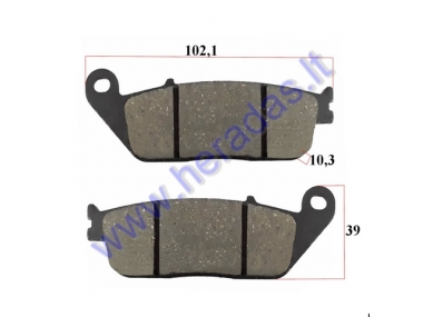 BRAKE PADS FOR MOTORCYCLE Kymco,Yamaha, Honda