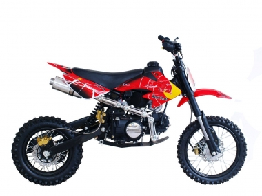 Motocross-enduro motorcycle APPOLO 125 cc  14/12 inch wheels air-cooled