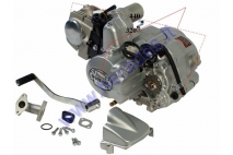 ENGINE FOR QUAD BIKE  125cc  3 GEARS + REVERSE AIR-COOLED ELECTRIC STARTER