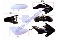 Plastic cover set for motorcycle 50-150cc fits models BULL STORM