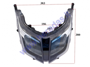 Head light for electric scooter HAWK