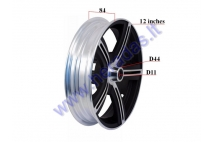 RIM 12 Inches (10 inches) for electric motor scooter HAWK
