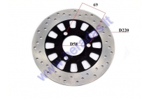 FRONT BRAKE DISC FOR SCOOTER HAWK