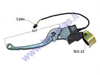 LEFT SIDE BRAKE LEVER FOR ELECTRIC MOTOR SCOOTER HAWK