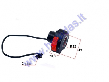 Speed switch for electric motor scooter HAWK