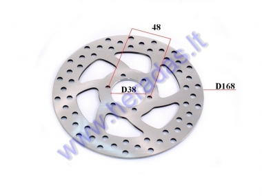 ELECTRIC MOTOR SCOOTER BRAKE DISK FOR CITYCOCO