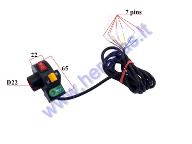 Electric motor scooter light switcher for CITYCOCO